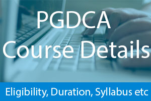 PGDCA 1 Year
